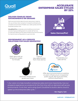 Accelerate enterprise sales cycles with Environment as a Service SB Cover