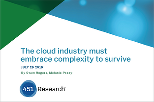 The Cloud industry must embrace complexity