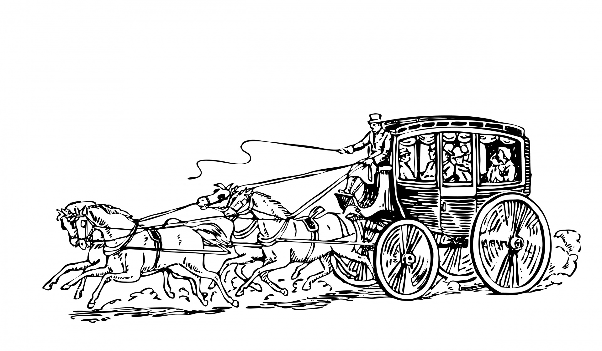 stagecoach-clipart-illustration